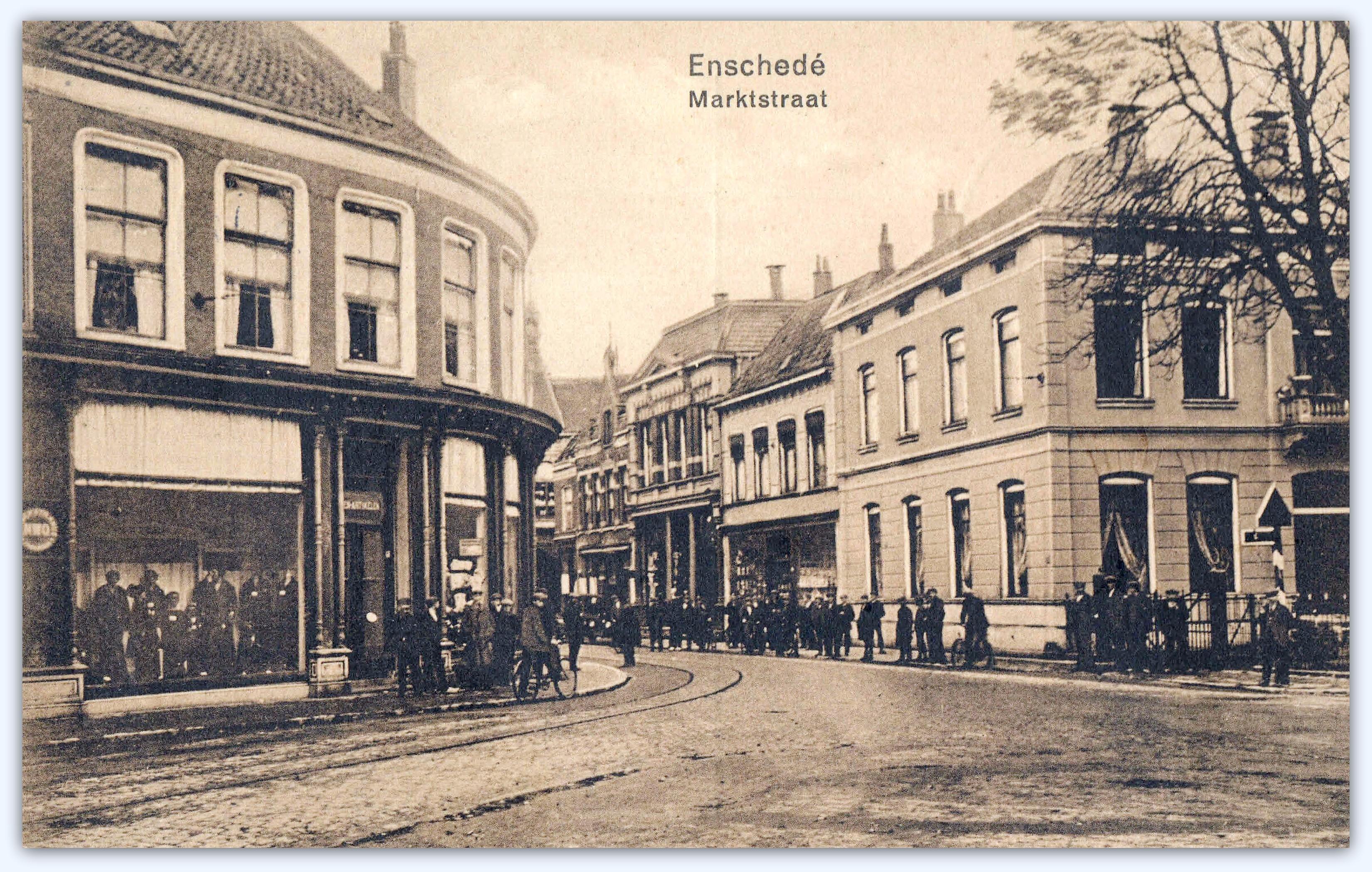 Oude markt richting Marktstraat