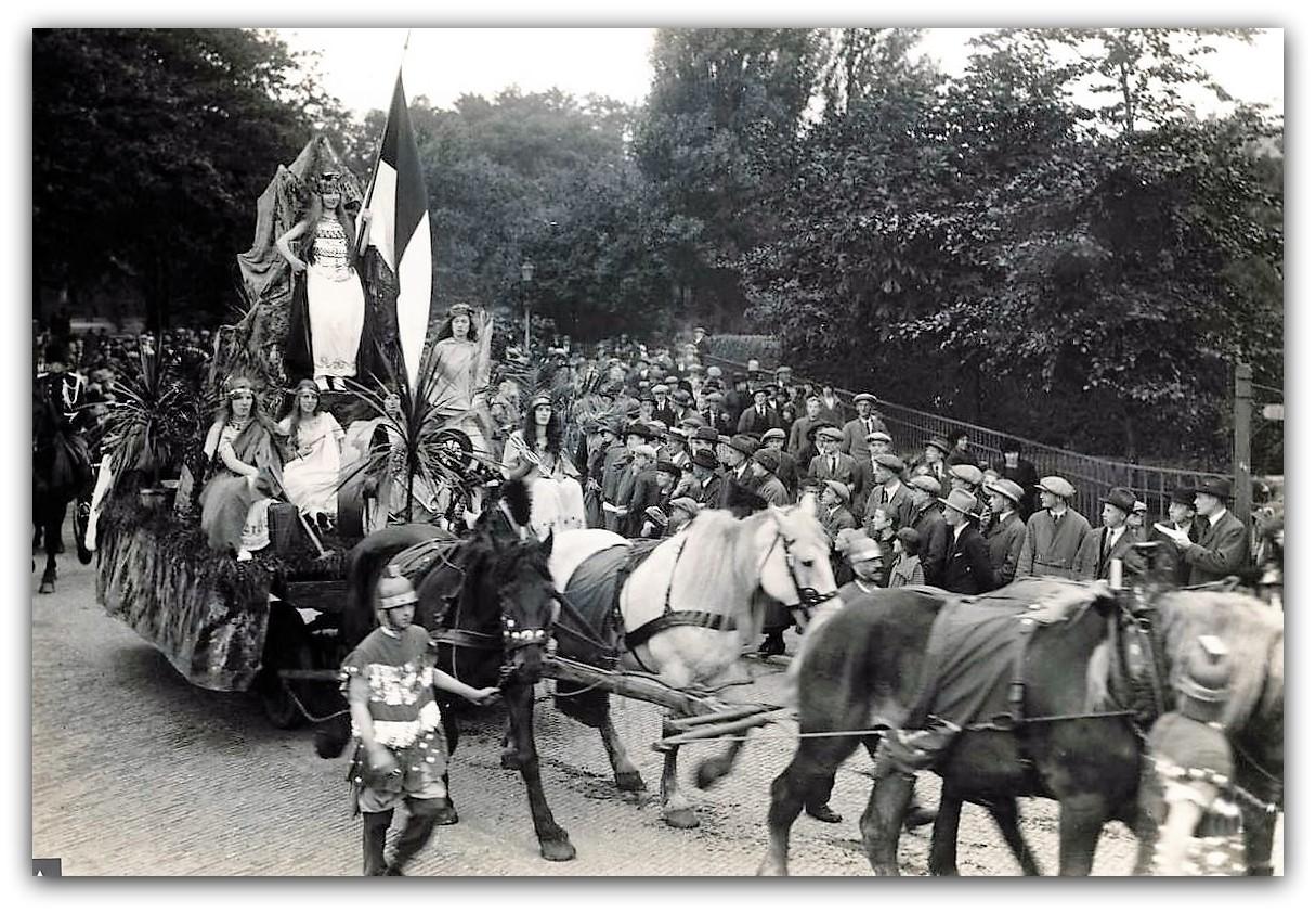 Historische optocht 600 jarig bestaan van Enschede in 1925