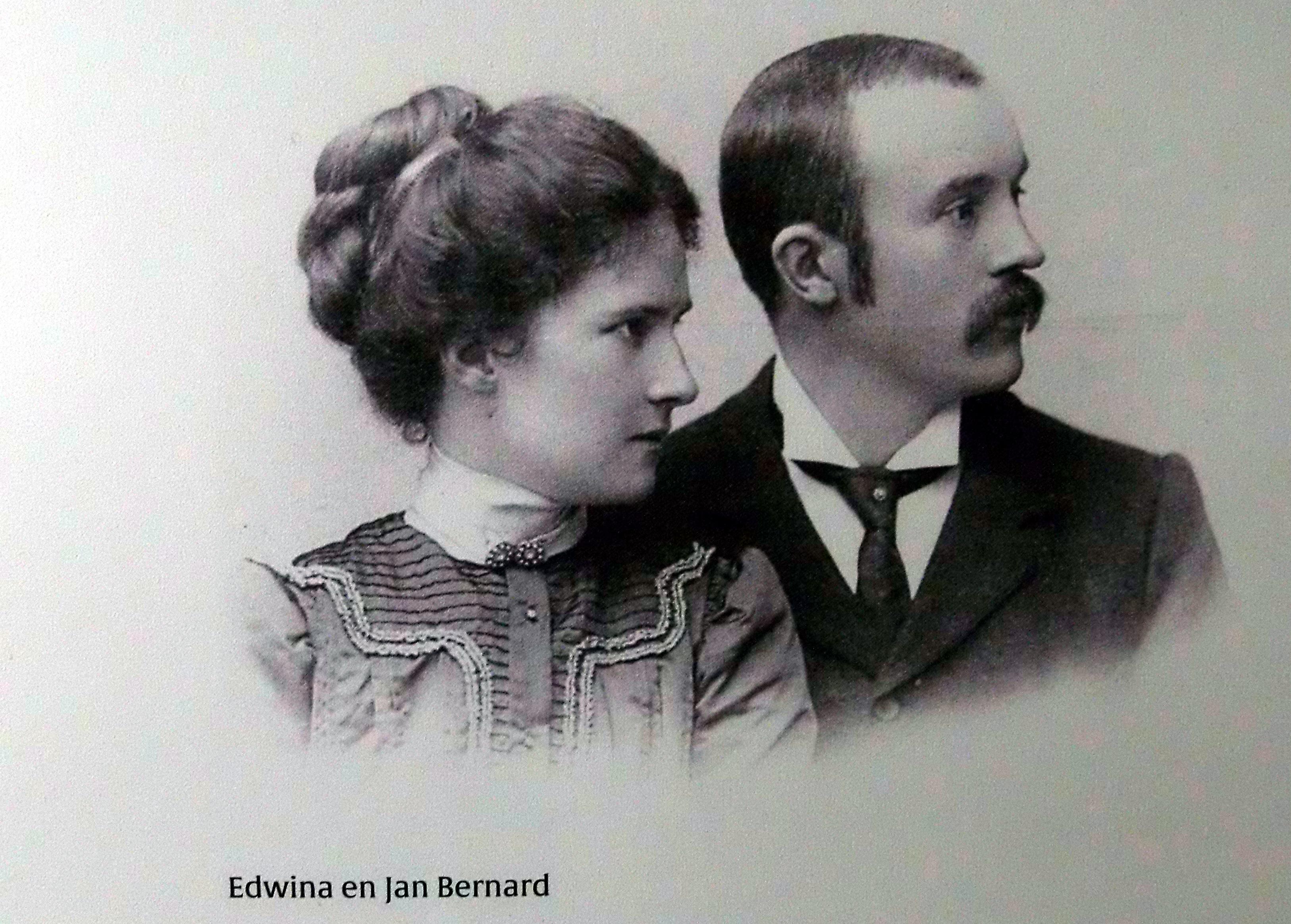Jan Bernard en Edwina van Heek